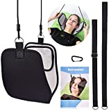 MS.DEAR Head Hammock for Neck Pain Relief, Hammock Stretcher Cervical Traction for Neck, With Eye Mask for Sleeping
