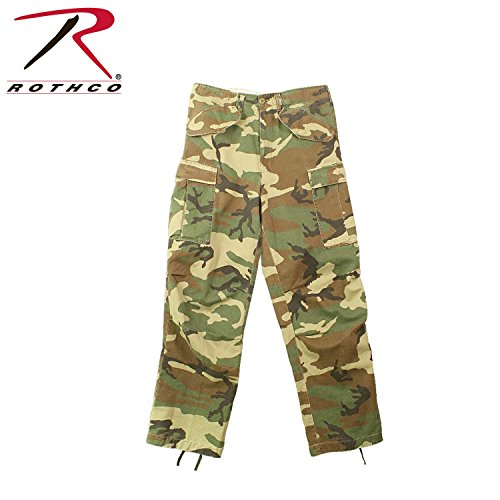 (2607 M-65 Field Pants- Vintage Woodland Camo (3X-Large))