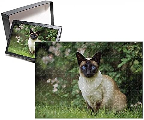 Photo Jigsaw Puzzle of CAT - Seal Point Siamese - Seal Point Siamese Cats