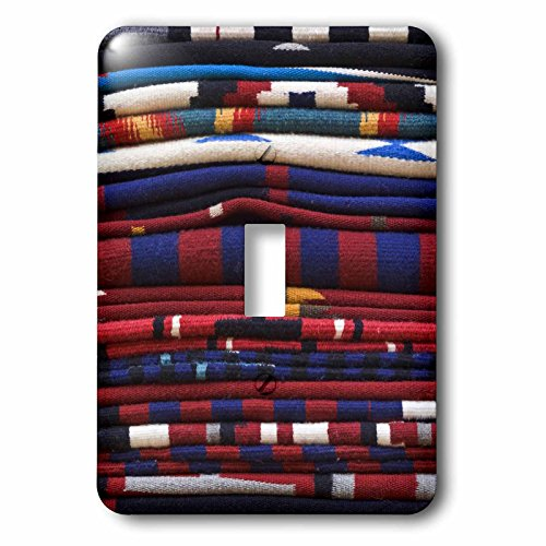 3dRose lsp_92948_1 New Mexico, Gallup, Handmade Navajo Rugs, Textile Us32 Rti0048 Rob Tilley Light Switch Cover