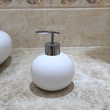 PEIWENIN-Botella de la emulsión del cuarto de baño casa champú botella botella del gel
