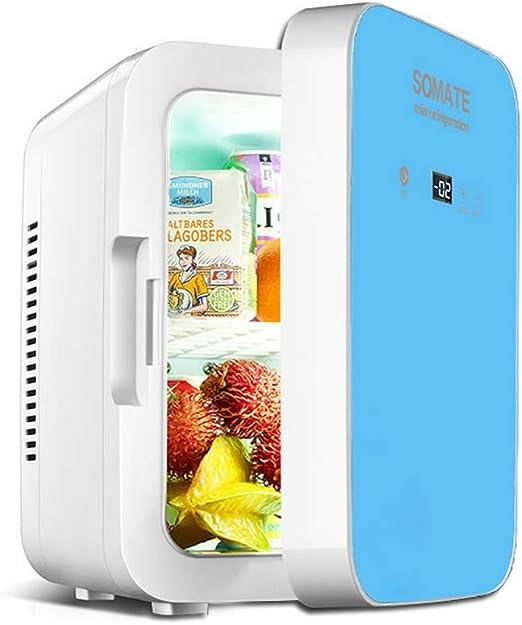 HBLWX Mini refrigerador portátil, congelador de congelador ...