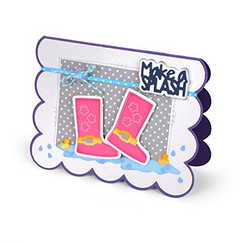 Sizzix Triplits 11 Die Set Rain Boots by Stephanie Barnard