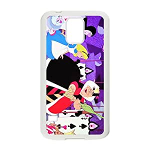 Alice in Wonderland Design Best Seller High Quality Cool For Samsung Galacxy S5