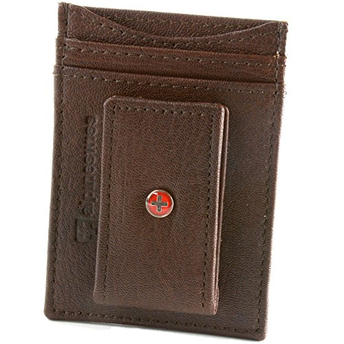 Alpine Swiss Wallet Leather Pocket product image