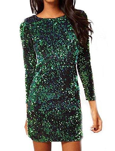 Backless Club Coolred Women Skinny Green Dress Dresses Bodycon twTXvqTxU