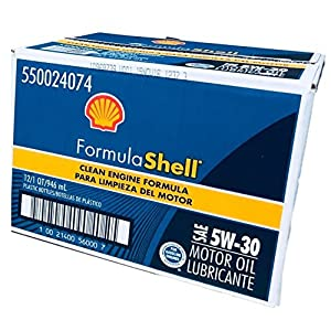 FormulaShell 550024074-12PK SAE 5W-30 Motor Oil - 1 Quart, (Pack of 12)