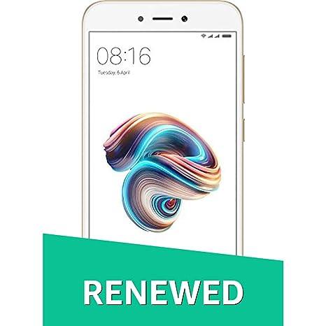 Renewed  Redmi 5A MCI3B  Gold, 2 GB RAM, 16 GB Storage  Smartphones