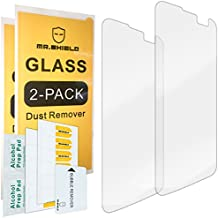 Mr Shield [2-PACK] For LG K4 LTE/LG Optimus Zone 3 III/LG Spree [Tempered Glass] Screen Protector with Lifetime Replacement Warranty