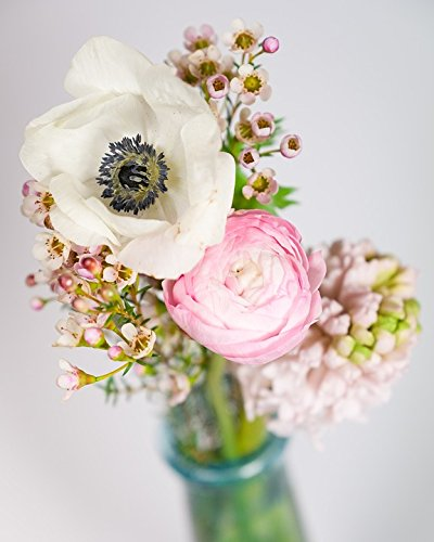 Home Comforts LAMINATED POSTER Buttercup Flowers Hyacinth Bokeh Bouquet Anemone Poster 24x36 - Buttercup Bouquet