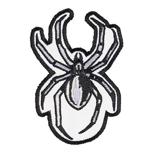 (Grey, Black & White Spider Patch, Spider Patches)
