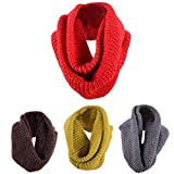 Ikevan Hot Selling Fashion Unisex Pure Color Thickening Scarf Wrap Long Section Women Men Warm Knitting Wool Scarf Autumn Winter 120x30cm