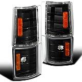 Spec-D Tuning 2LC-G2G4JM-V2-TM Gmc Sierra/ Suburban/ Yukon/ C10 Corner Lights Black