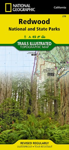 Redwood National and State Parks (National Geographic Trails Illustrated Map) (Redwood Parka)