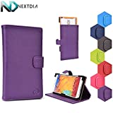 Bliss S5 Case Stand with Quick Camera Access | Purple Starlight + NEXTDIA Velcro Cable Tie