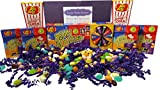 (US) Jelly Belly BeanBoozled Gift Box with New 4th Edition Spinner Game (4) BeanBoozled Refill Boxes (2) Buttered Popcorn Flavored Jelly Beans and 10 Ive Been BeanBoozled! Stickers