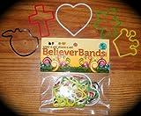 Believer Rubber Bandz Band Wristband (10)