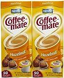 Coffee-mate Liquid Creamer Singles - Hazelnut - 50 ct - 2 pk