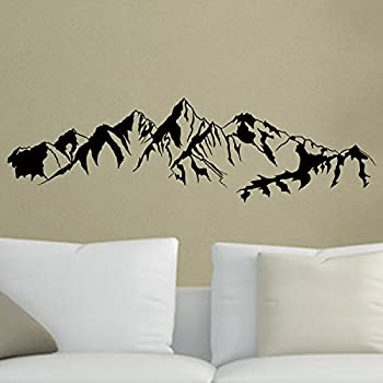 Snow Mountain Huge Wall Vinyl Decal Other Products