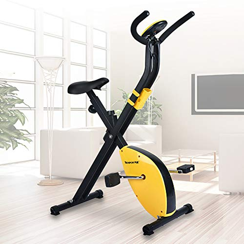 F-JX Indoor Pedal Exercise Bike, with LCD Display, Lose Weight Fitness Equipment, Stepper Home Gym Fitness Tools, Mini…