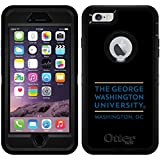 George Washington University Title design on Black OtterBox Defender Series Case for iPhone 6 Plus and iPhone 6s Plus