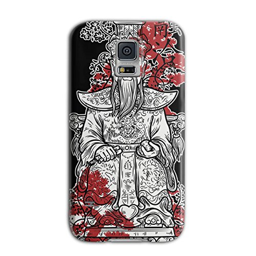 [Master Chinese God Empire Lead NEW Black 3D Samsung Galaxy S5 Case | Wellcoda] (China National Costume Name)