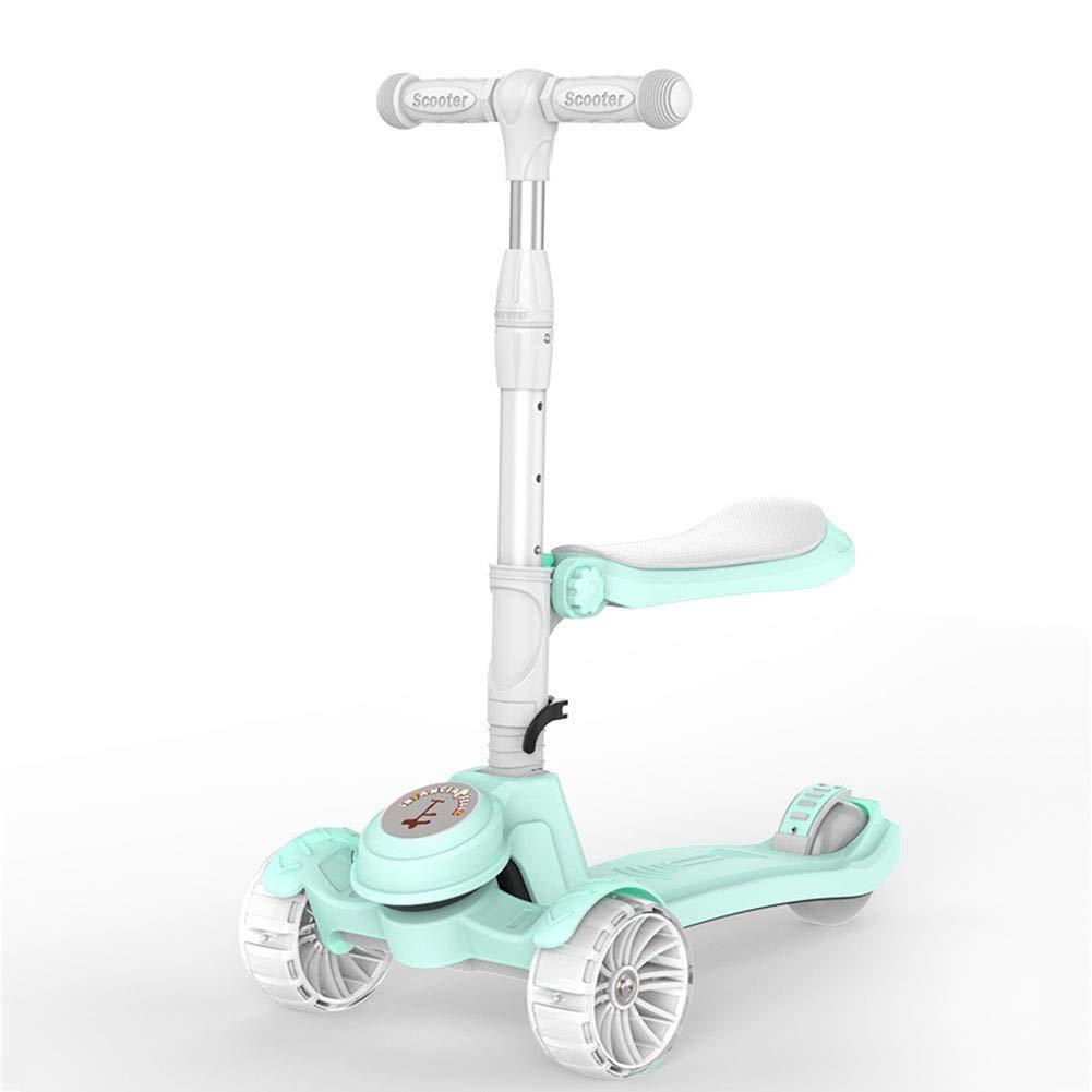 【激安大特価!】  スクーターを蹴る子供たち (色 スクーター :、スクーター B07R52MKZQ、フラッシュスクーター (色 : 緑) B07R52MKZQ 緑, 大勧め:92c4fbcc --- 4x4.lt