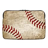 Snaptotes Baseball Stitches Neoprene 13 Inch Laptop Sleeve Case Bag/ 13' Notebook Computer Case