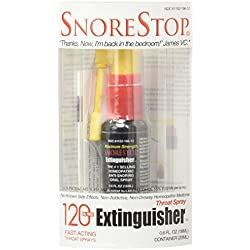 SnoreStop Extinguisher Throat Spray, 120 Sprays 0.6 oz