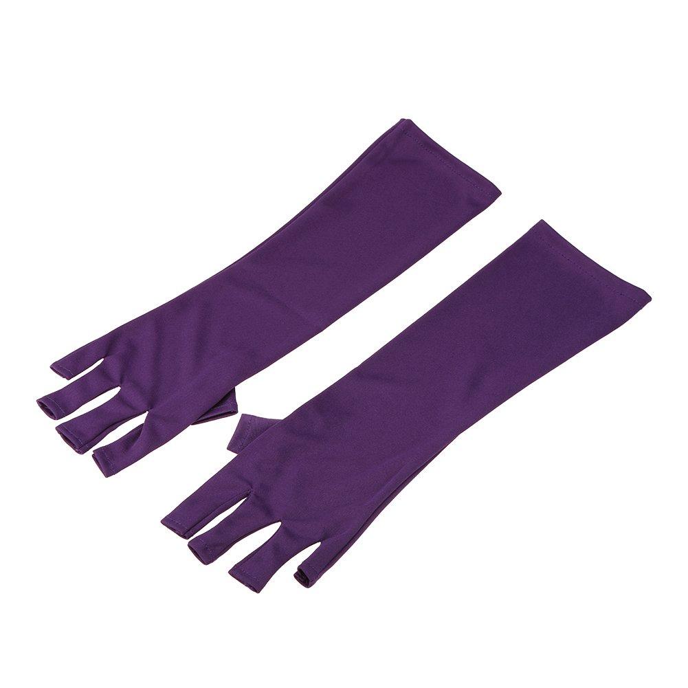Anself Anti UV Glove for UV Light/Lamp Radiation Gloves Nail Art Dryer Tools