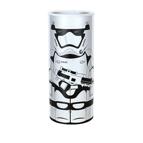 Disney 12041 Star Wars Desk Lamp, White/Black
