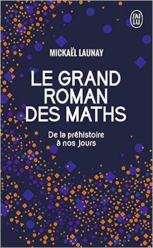 Résultats de recherche d'images pour «le grand roman des maths»
