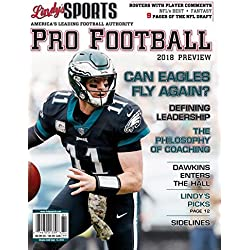 LINDY'S SPORTS 2018 PRO FOOTBALL PREVIEW (COVERS VARY)