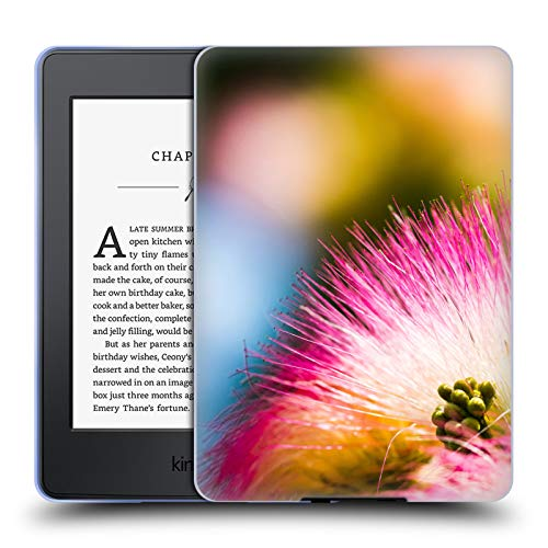 Price comparison product image Official PLdesign Silk Tree Mimosa Flowers and Leaves Soft Gel Case for Amazon Kindle Paperwhite 3