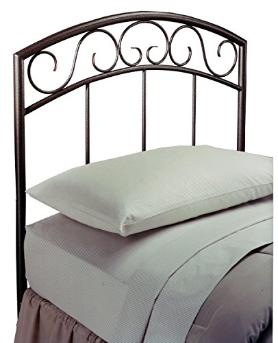 Hillsdale Furniture 299HTWR Wendell Headboard with Rails, Twin, Copper ()