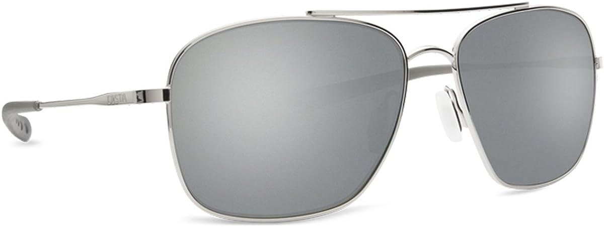 Costa Del Mar mens Canaveral Round Sunglasses