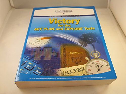 Victory for the ACT, PLAN and EXPLORE Tests (11th Edition)