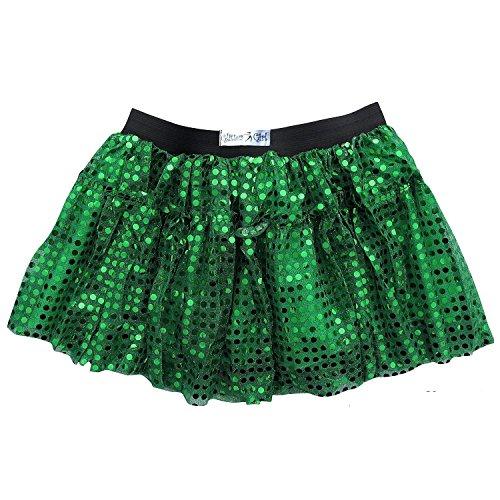 Women's Sequin Sparkle Running Skirt | Glitter Skirt, Costume, Running Tutu, Princess 5K Run Skirt