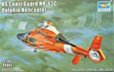Trumpeter 1:35 US Coast Guard HH-65C Dolphin Helicopter Plastic Model Kit #05107