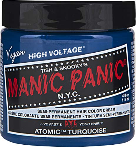 Turquoise Tint - Manic Panic Atomic Turquoise, 4 Ounce