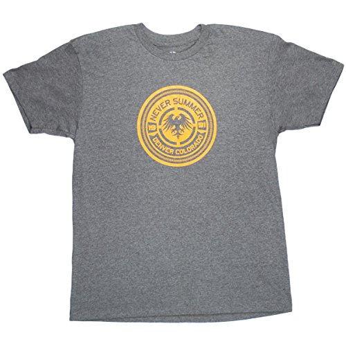 - Never Summer Boys Bullet Eagle T-Shirt Royal Heather Large