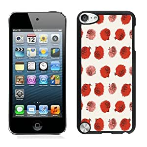 Individual Ipod 5 Cases for Girls Hedgehog Black Ipod 5th Generations Protective Cover for Boys