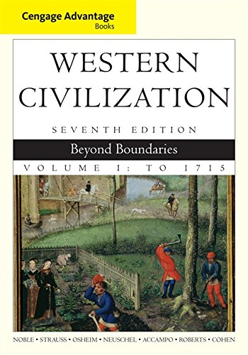 Cengage Advantage Books: Western Civilization: Beyond Boundaries, Volume I from Brand: Cengage Learning