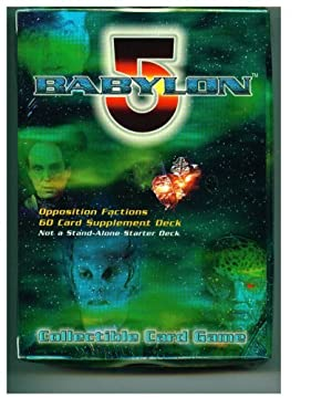 Babylon 5 The Great War Collectible Card Game Opposition Factions Deck by Babylon 5