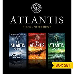 The Atlantis Trilogy (Box Set) by [Riddle, A.G.]