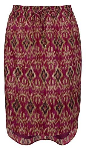 Lauren Ralph Lauren Women's Ikat-Print Crepe Skirt-M-XXL - Print Lauren Ralph Skirt