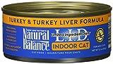 Natural Balance Ltd Ingredient Diets Wet Cat Food, Turkey & Turkey Liver Formula, 5oz Can, 24 Pack
