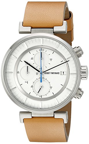 Issey Miyake Men's SILAY008 W Analog Display Quartz Brown Watch
