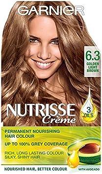 Garnier Nutrisse Creme 6.3 Golden luz marrón: Amazon.es ...