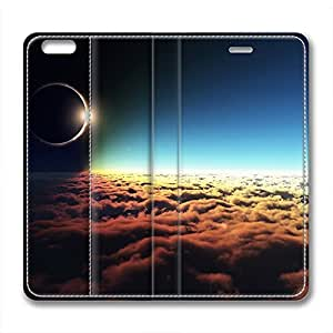 DIY Galaxy Design Leather Case for Iphone 6 Plus Sea of Clouds